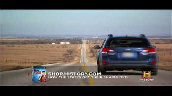 History Channel TV Spot for 'How the states got their shapes' DVD - Thumbnail 3