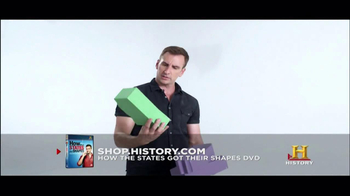 History Channel TV Spot for 'How the states got their shapes' DVD - Thumbnail 5