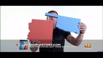 History Channel TV Spot for 'How the states got their shapes' DVD - Thumbnail 6