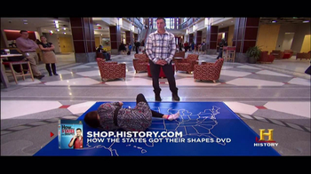 History Channel TV Spot for 'How the states got their shapes' DVD - Thumbnail 7