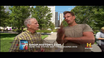 History Channel TV Spot for 'How the states got their shapes' DVD - Thumbnail 8