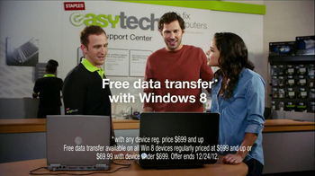 Staples TV Spot \'Free Data Transfer\'