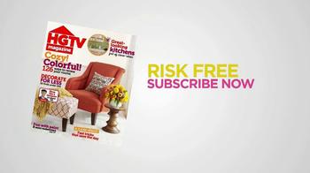 HGTV Magazine TV Spot, 'Risk-Free' - Thumbnail 2