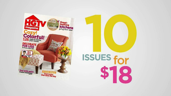HGTV Magazine TV Spot, 'Risk-Free' - Thumbnail 5