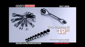 Craftsman Universal Wrench Set TV Spot  - Thumbnail 10