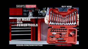 Craftsman Universal Wrench Set TV Spot