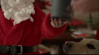 Kay Jewelers Citizen Eco-Drive Watch TV Spot, 'Santa: The Perfect Gift: Save 25% on Citizen Watch' - Thumbnail 5