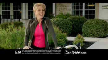 Del Webb TV Spot, 'Biking'