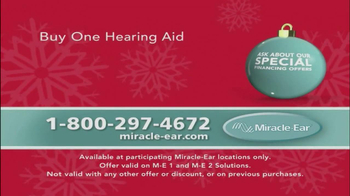 Miracle Ear TV Spot, 'Hear this Holiday Season' Featuring Patrick Duffy - Thumbnail 10