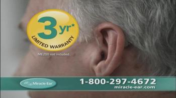 Miracle Ear TV Spot, 'Hear this Holiday Season' Featuring Patrick Duffy - Thumbnail 8