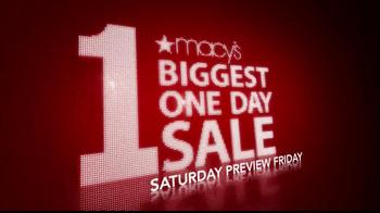 Macy's 1-Day Sale TV Spot  - Thumbnail 2