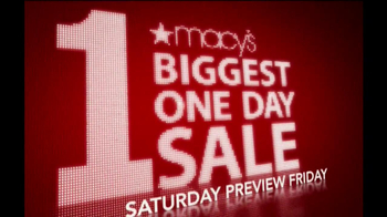 Macy's One-Day Sale TV Spot, 'Mattresses' - Thumbnail 1