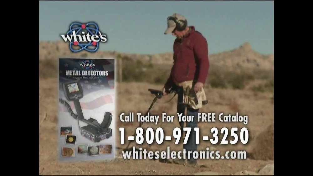 White's Electronics Metal Detectors TV Commercial, 'Nugget Hunting'