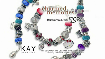 Kay Jewelers TV Charmed Memories Collection TV Spot, 'Santa: The Perfect Gift' - Thumbnail 8