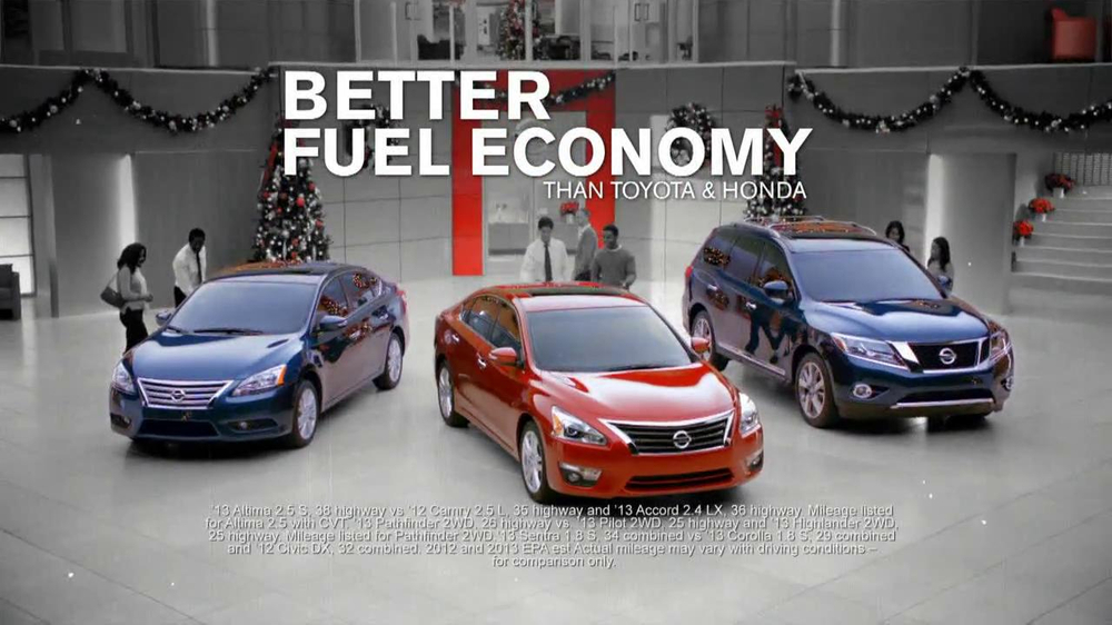 Nissan Season to Save TV Commercial - iSpot.tv
