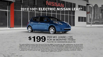 Nissan Season to Save TV Spot  - Thumbnail 5