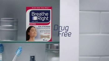 Breathe Right TV Spot, 'Nightly Stuffy Nose Thing' - Thumbnail 4
