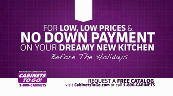 Cabinets To Go TV Spot, 'Holiday Entertaining' - Thumbnail 10