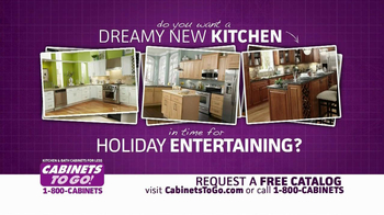 Cabinets To Go TV Spot, 'Holiday Entertaining' - Thumbnail 2