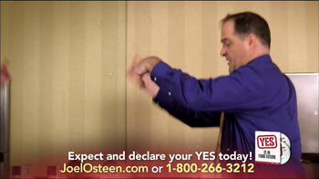 Joel Osteen TV Spot, 'Yes is in Your Future' - Thumbnail 5