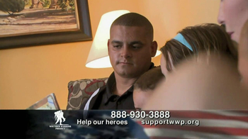 Support the Wounded Warrier Project TV Spot, 'Hurt' Featuring Trace Adkins - Thumbnail 4