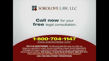 Sokolove Law TV Spot, 'Byetta, Januvia and Victoza' - Thumbnail 6