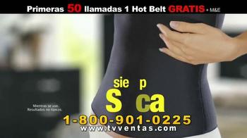 Hot Shapers Hot Belt TV Spot, 'Menos Tallas' [Spanish] - Thumbnail 4