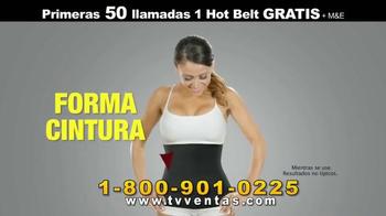 Hot Shapers Hot Belt TV Spot, 'Menos Tallas' [Spanish] - Thumbnail 6