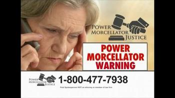 Power Morcellator Justice TV Spot, 'Compensation'