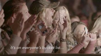Garth Brooks World Tour TV Spot, 'Bucket List'