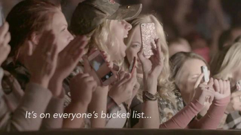 Garth Brooks World Tour TV Spot, 'Bucket List' - 2 commercial airings