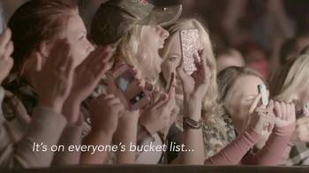 Garth Brooks World Tour TV Spot, 'Bucket List' - 3 commercial airings