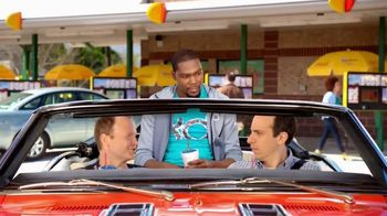 Sonic Drive-In Kevin Durant Candy Slush TV Spot, 'Dunk' Feat. Kevin Durant