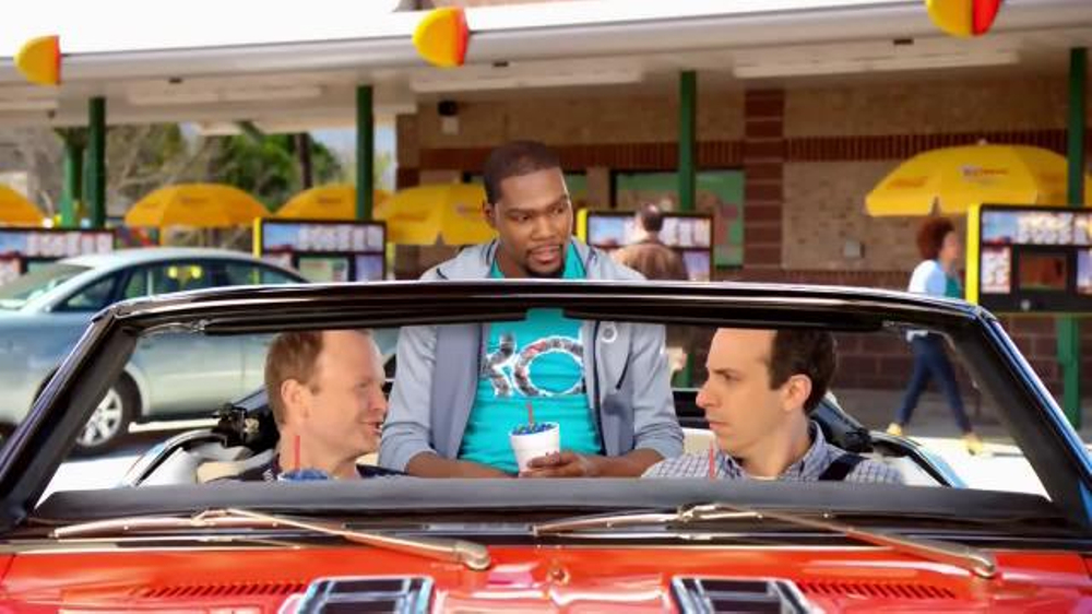 Sonic Drive-In Kevin Durant Candy Slush TV Commercial, 'Dunk' Feat. Kevin Durant