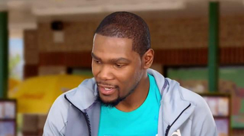 Sonic Drive-In Kevin Durant Candy Slush TV Spot, 'Dunk' Feat. Kevin Durant - Thumbnail 6