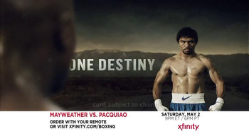 XFINITY On Demand TV Spot, 'Mayweather vs. Pacquiao: May 2015' - Thumbnail 3