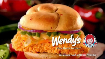 Wendy's Jalapeno Fresco Spicy Chicken Sandwich TV Spot, 'Reactions' - Thumbnail 8