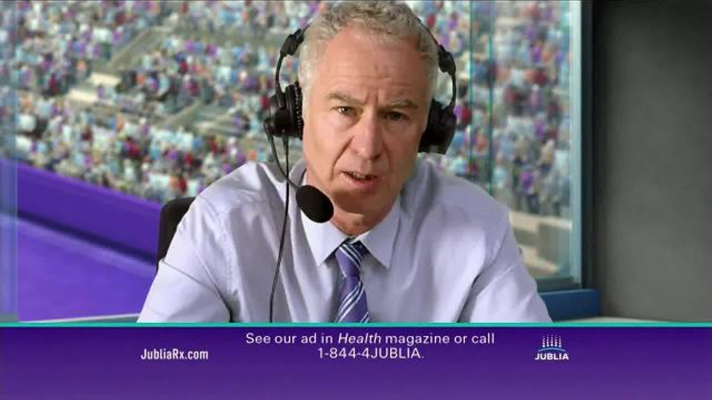 Jublia TV Commercial, 'Tennis' Featuring John McEnroe