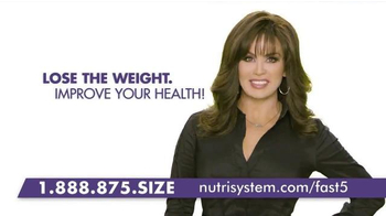 Nutrisystem Fast 5+ TV Spot, 'Do Something' Featuring Melissa Joan Hart - Thumbnail 8