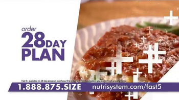 Nutrisystem Fast 5+ TV Spot, 'Do Something' Featuring Melissa Joan Hart - Thumbnail 5