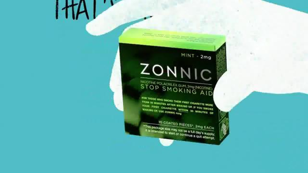 Zonnic Nicotine Gum TV Commercial, 'Lectures' - Video