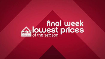 Ashley Lowest Prices of the Season Mattress Event TV Spot, 'Final Week' - Thumbnail 2