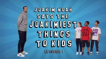 Foot Locker TV Spot, 'Joakim Noah Says the Joakimiest Things to Kids: Red' - 109 commercial airings