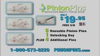 Pinion Pins TV Spot, 'Attach Them All Together' - Thumbnail 8