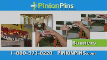 Pinion Pins TV Spot, 'Attach Them All Together' - 24 commercial airings