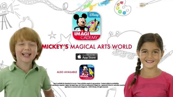 Disney Imagicademy Mickey's Magical Arts World App TV Spot, 'Creativity' - Thumbnail 10
