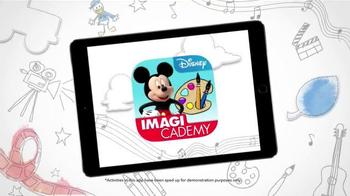 Disney Imagicademy Mickey's Magical Arts World App TV Spot, 'Creativity' - Thumbnail 2