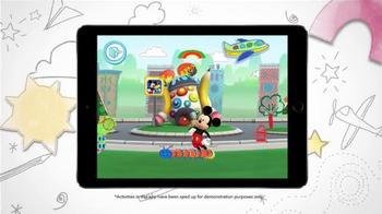 Disney Imagicademy Mickey's Magical Arts World App TV Spot, 'Creativity' - Thumbnail 6