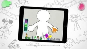 Disney Imagicademy Mickey's Magical Arts World App TV Spot, 'Creativity' - Thumbnail 7