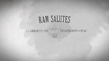 Ram Trucks TV Spot, 'ACM Awards: Salute to Miranda Lambert' - Thumbnail 7